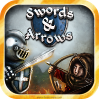 Swords and Arrows App Icon by TheLandoBros
