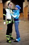 Dramatical Murder Aoba and Noiz 'Safe' by Hirako-f-w