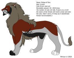 Lion Male Breedable 1 by CreatureCreatingBabe