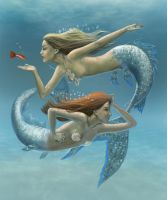 Siren Sisters by dashinvaine