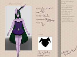 Lavender Application for TBR by Yapowii-Hemeowii