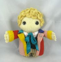 6th Doctor by deridolls