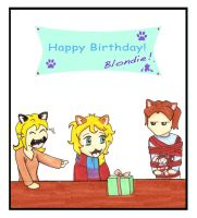 CF_Happy Birthday Blondie by Rain7777
