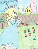 Throwback Thursday - Rosalina's Parasol by PrincessArtist2009