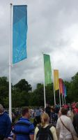 Hyde Park Olympic Flags by ggeudraco