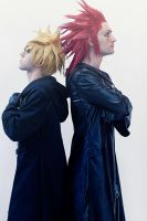 Axel and Roxas Cosplay Kingdom Hearts 2 Leon Chiro by LeonChiroCosplayArt