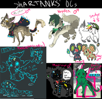 oc's by crowmap