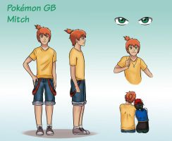Pokemon Gender Bender - Mitch - Character Sheet by TheMightFenek