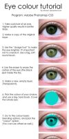 Tutorial: Eye color change by mthows1