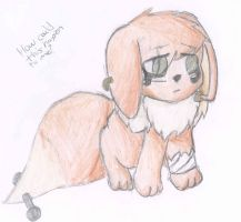 The actual second emo eevee by Brownie-Bytes