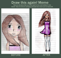 Meme  before and after by Tabita-chan
