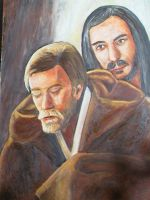 Completed Falcon and the tears by earlybird-obi-wan