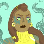 Illaoi ~ League of Legends by MagicWitch123