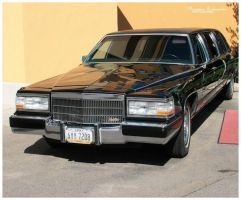 Cadillac Fleetwood 75 limousine by MorganeS-Photographe