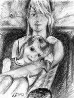 Mother and Child study by philippeL