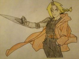 Edward Elric by Dream-Flier