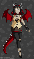 [CLOSED] Fantasy Adoptable: Dragon Girl by izka197