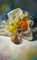 Old Still-life Study by EldarZakirov