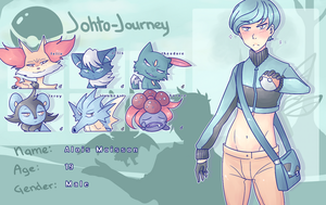 Johto Journey | Trainer Alois wants to battle ! by kenketsu