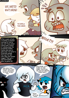 Comic Demo - So The Dumbass Cat Has Money Issues. by WaniRamirez