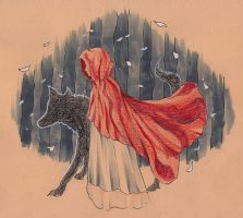 Little red riding hood by Ka4