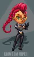 Crimson viper sd by Patylegs