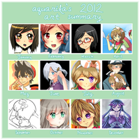 Art Summary 2012 by Aquarika