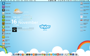 SKYPE Wallpaper ( Mac Osx ) by el-abda3-com