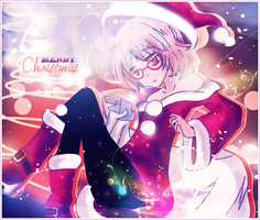 Christmas Contest - Mirai cute Santa Mama by CaptainMisuzu