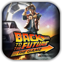 Back to the Future Game Icon by Wolfangraul