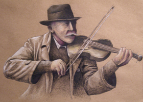 The Blind Fiddler by TheColtsAreGreat