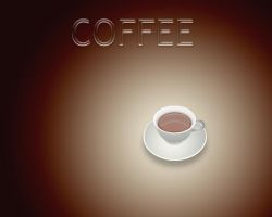 Coffee Wallpaper by sedART