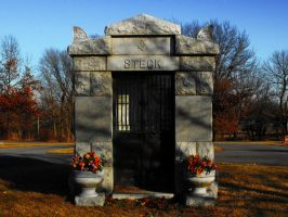 Crown Hill Abbey Crypt by krissybdesigns