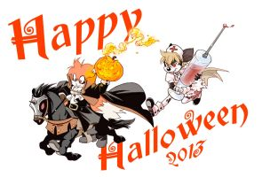 Happy Halloween2013 by twisted-wind