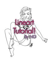 Lineart tutorial by chikaex0tica