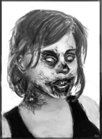 Zombie GURL by checkityall