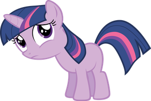 Little Twilight by starboltpony