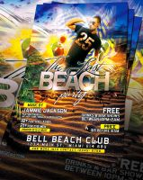 PSD LastBeach Party Flyer by retinathemes