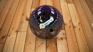 Spare Bowling Ball by TheBigDaveC