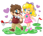 .:A swing to your heart:. by CloTheMarioLover