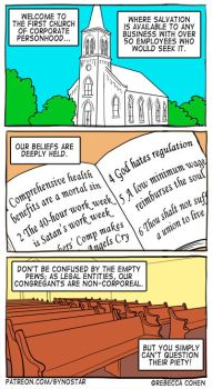 Church Of Corporate Personhood by Gyno-Star