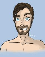 Pewdiepie bust by monakaliza