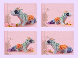 Dragon pastel colors by Siachi