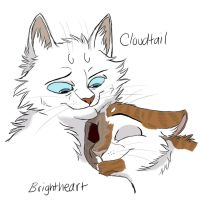 A Big Strong Warrior - CxB by Graystripe64