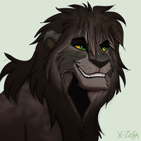 Commission: Atticus by X-ZELFA