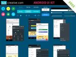 Android UI Kit FREE download by 123creative