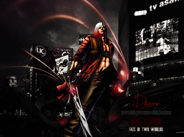 Dante Devil May Cry. MvsC 3 by marcelo-g