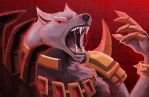 Warwick's Howl by RinTheYordle