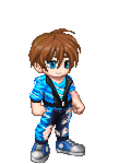 Gaia Online Dream Avatar, Ripped Blue by LevelInfinitum