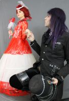 The Red Queen and the Mad Hatter 10 by MajesticStock
